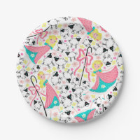 Little Bo Peep Party Plates