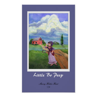 Little Bo Peep Print