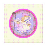 Little Bo Peep Stretched Canvas Print