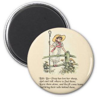 Little Bo Peep Vintage Nursery Rhyme Magnet