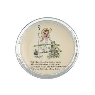 Little Bo Peep Vintage Nursery Rhyme Ring