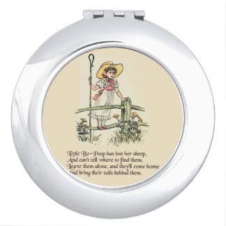 Little Bo Peep Vintage Nursery Rhyme Vanity Mirror