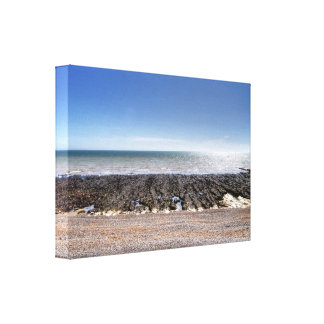Little Boat Stretched Canvas Print