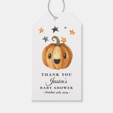Little Boo Halloween Baby Shower Favor Tag