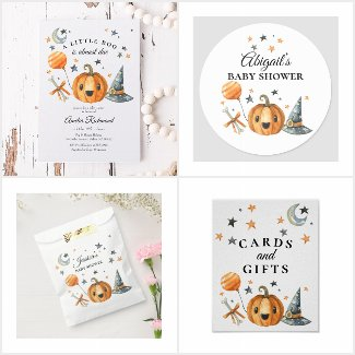 Little Boo is Almost Due Baby Shower Collection