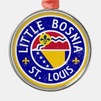 Little Bosnia St. Louis Metal Ornament