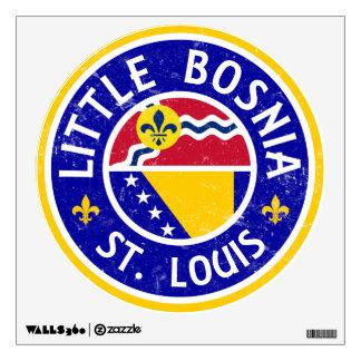Little Bosnia St. Louis Wall Decal