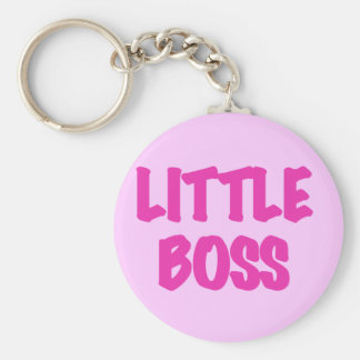 Little Boss - Pink Tshirts and Gifts Keychain