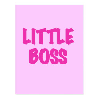 Little Boss - Pink Tshirts and Gifts Postcard