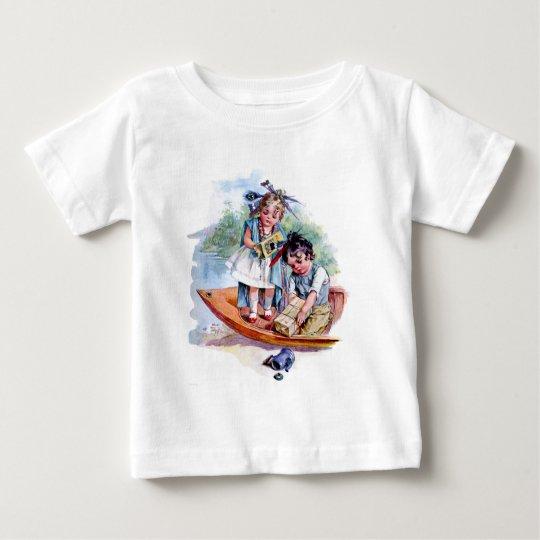 Little Boston Tea Party Baby T-Shirt