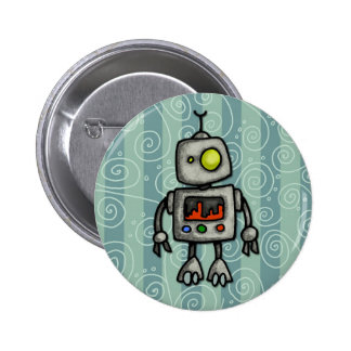 little bot pinback button