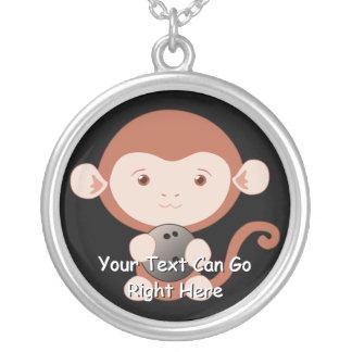 Little Bowler Monkey Necklace