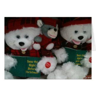 LITTLE BOY 1st CHRISTMAS Greeting Card