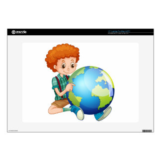 Little boy and the world skin for laptop