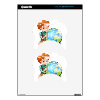 Little boy and the world xbox 360 controller skins