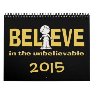 """Little Boy as the """"I"""" in Believe 2015 Wall Calendar"""