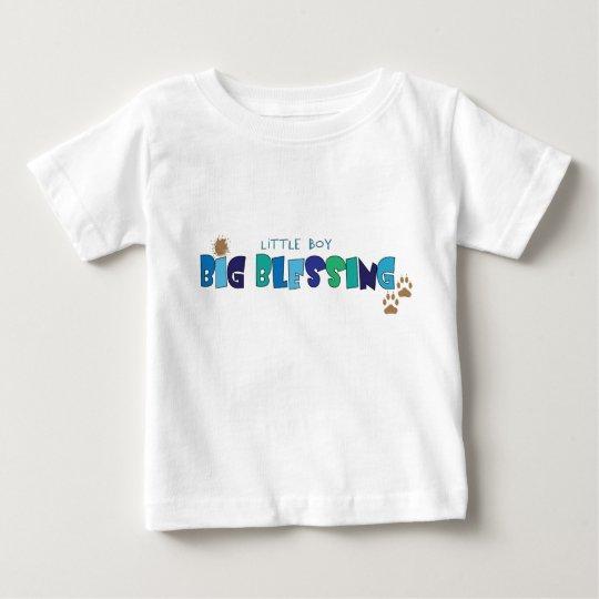 Little Boy, Big Blessing Christian baby t-shirt
