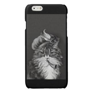 """Little Boy Blue"" - Cat Nursery Rhymes Glossy iPhone 6 Case"