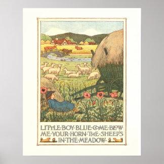 Little Boy Blue Poster