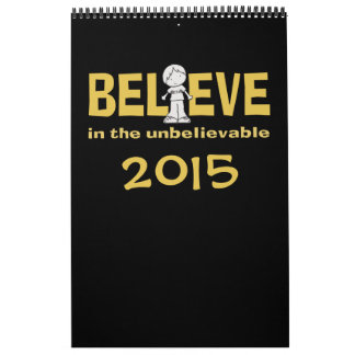 """Little Boy como """""""" adentro creo 2015 Calendario"""