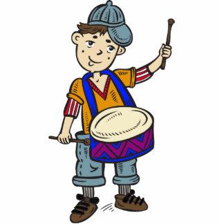 Little Boy con los tambores Esculturas Fotográficas
