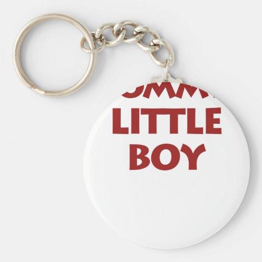 Little Boy de la mamá Llaveros Personalizados