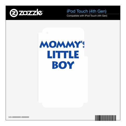 Little Boy de la mamá Calcomanía Para iPod Touch 4G