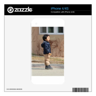 Little boy decal for the iPhone 4S