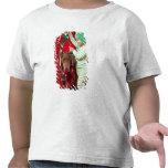 Little boy decorating a dog t shirts