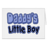 Little Boy del papá Tarjeta