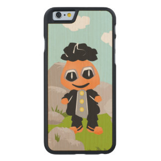 LITTLE BOY DOLL WALKING OUTSIDE BY THE ROCKS CARVED® MAPLE iPhone 6 SLIM CASE
