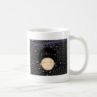 Little Boy Drawing Coffee Mug