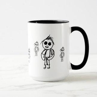 Little Boy Drawings Mug