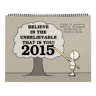 Little Boy Draws Tree BITUB 2015 Calendar