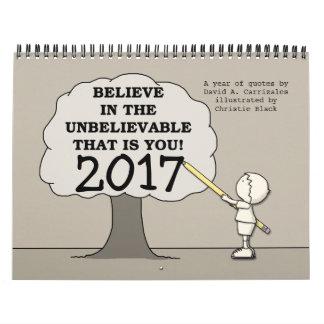 Little Boy Draws Tree BITUB 2017 (Medium) Calendar