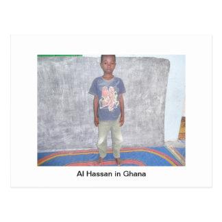 Little Boy in Ghana Postcard