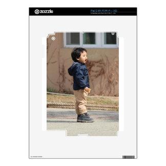 Little boy iPad 2 skin
