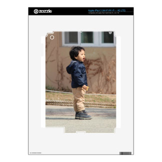 Little boy iPad 3 decals