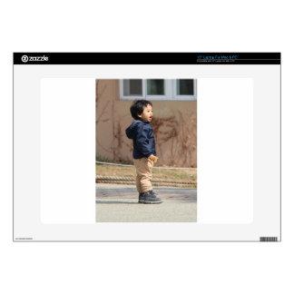 Little boy laptop decal