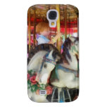 Little Boy on Carousel Samsung Galaxy S4 Covers