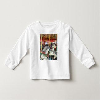 Little Boy on Carousel Shirt