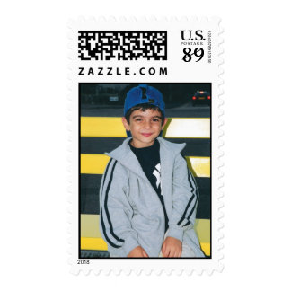 little boy photo postage