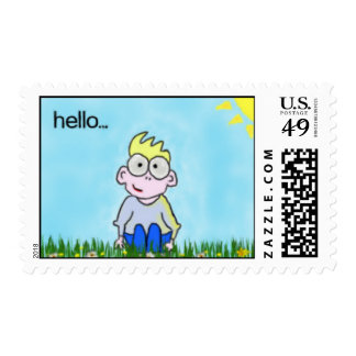 Little Boy Postage Stamps