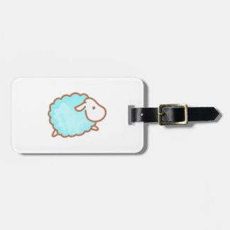 LITTLE BOY SHEEP LUGGAGE TAGS