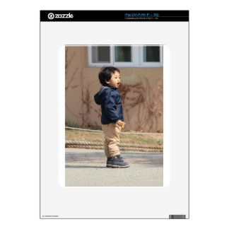 Little boy skins for the iPad