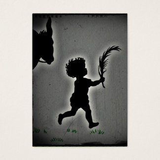 Little Boy with a Palm Branch Business Card