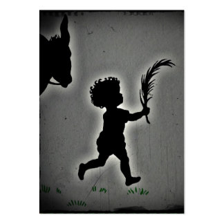 Little Boy with a Palm Branch Business Cards