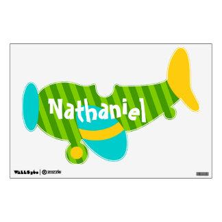 Little Boy's Airplane Wall Sticker