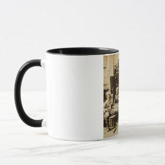 Little Boys Orchestra - Vintage Stereoview Mug