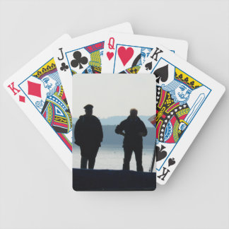 Little break for the ferrymen bicycle playing cards